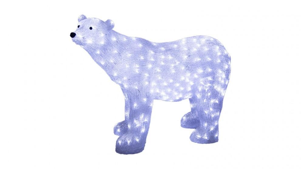 Lexi Lighting Acrylic Polar Bear - Large