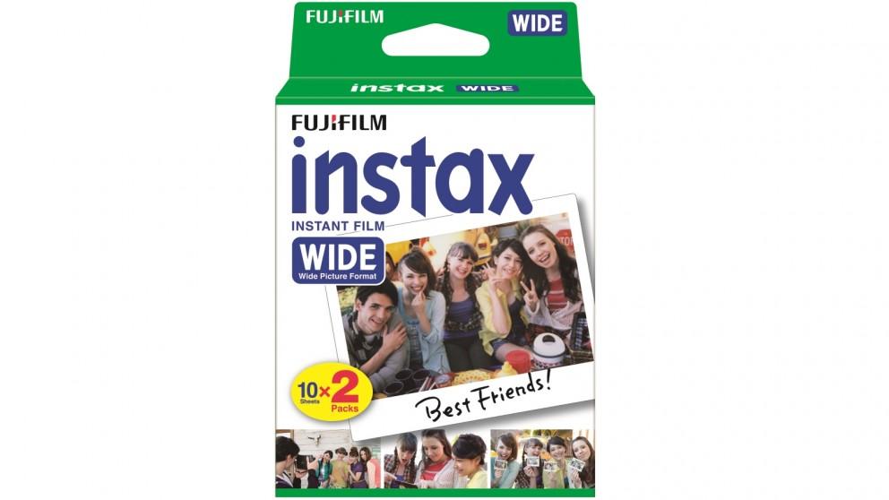 Fujifilm 20 Pack Instax Wide Film