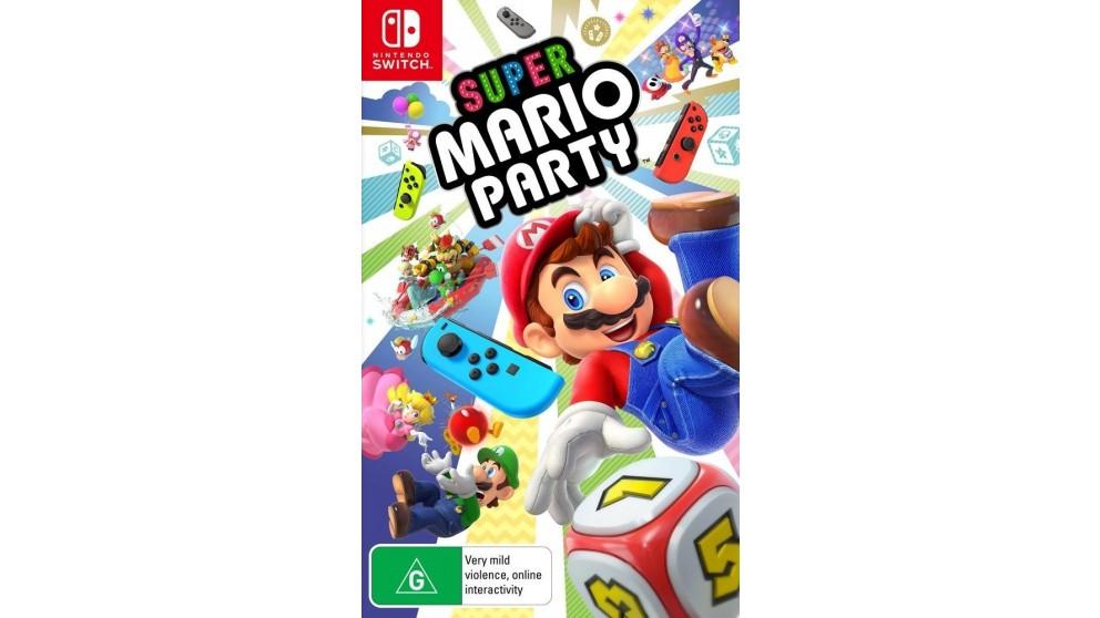 Cheap Super Mario Party Nintendo Switch Harvey Norman Au