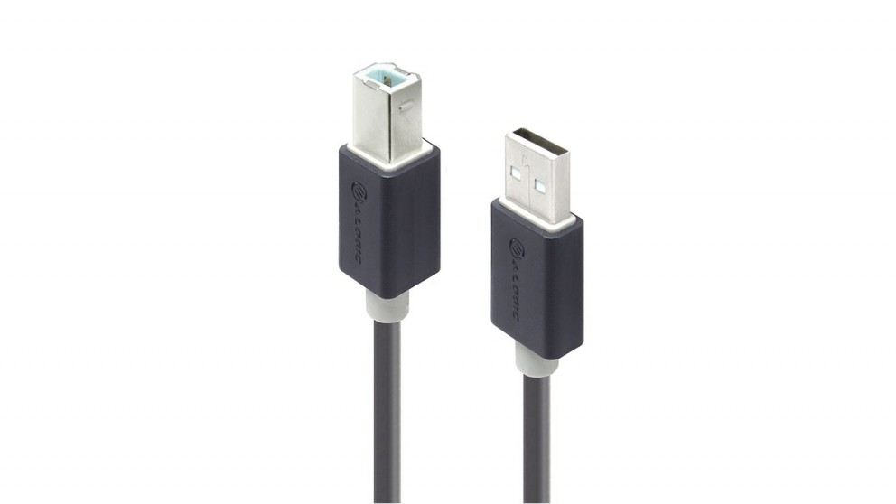 Alogic 5m USB 2.0 Type A to Type B Cable