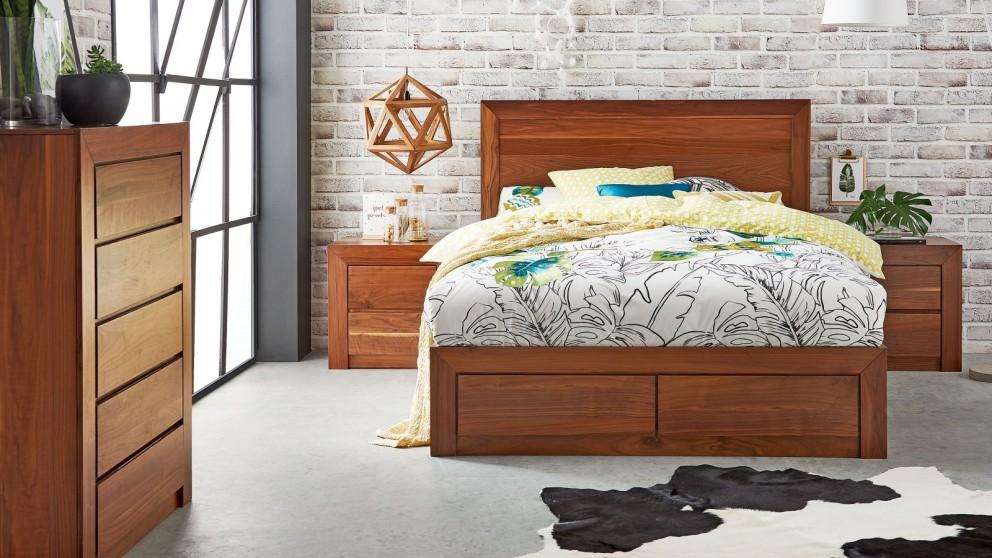 Flinders 4 Piece Queen Bedroom Suite
