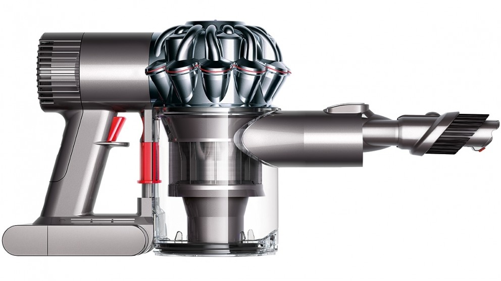 how to clean a dyson v6 handheld
