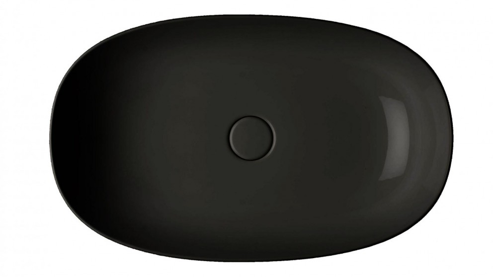 Parisi Pod 600mm Bench Basin - Gloss Black