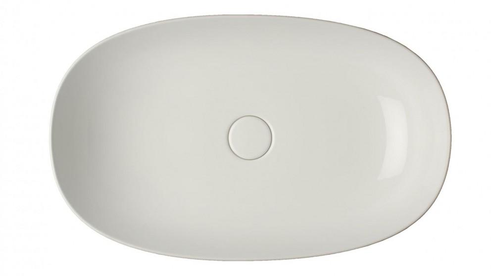Parisi Pod 600mm Bench Basin - Gloss White