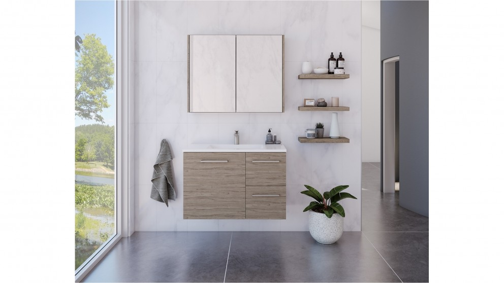 Timberline Austin Regal 900mm Wall, Mode Austin White Wall Hung Vanity Unit And Basin 600mm