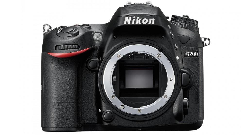 Nikon D7200 DSLR Camera Body Only