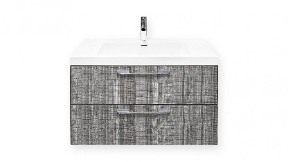 Forme Cabin 800mm Grey Ash Wall Hung Vanity