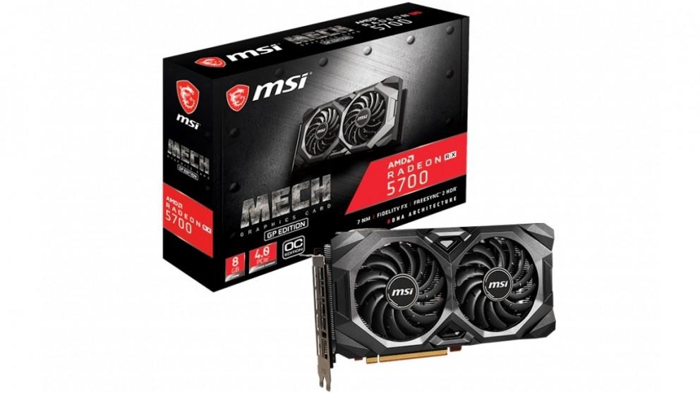 MSI AMD Radeon RX 5700 Mech GP 8GB OC Graphics Card