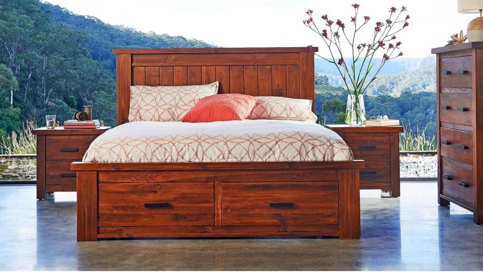 Buy Cobar Queen Bed Harvey Norman Au