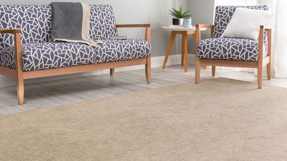 Velour Beige Small Rug