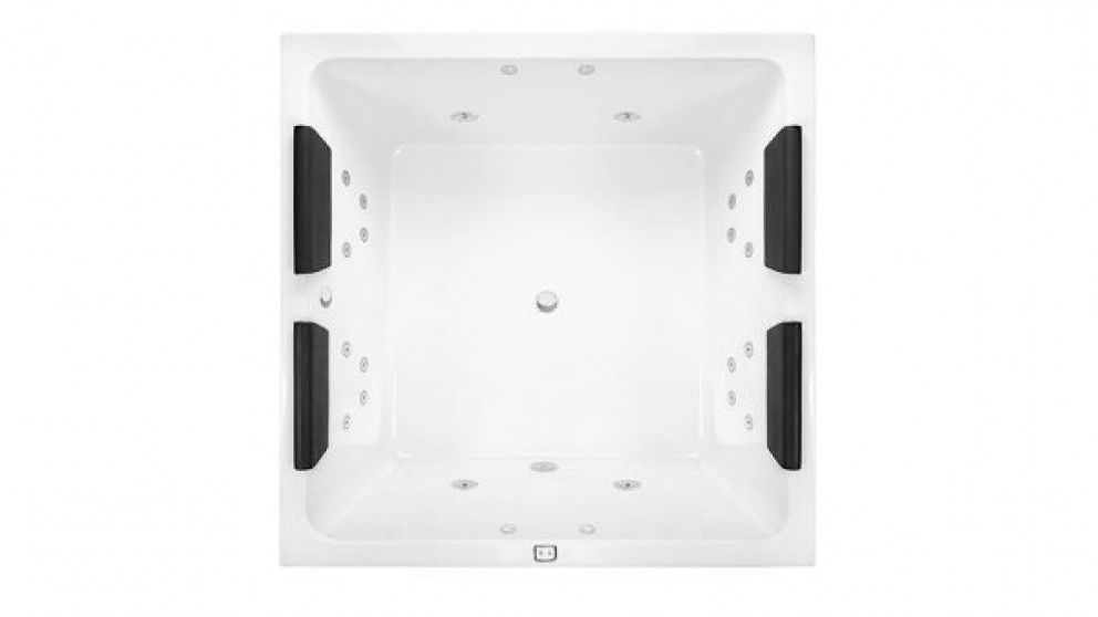 Decina Venice 1400mm Square Contour Bath