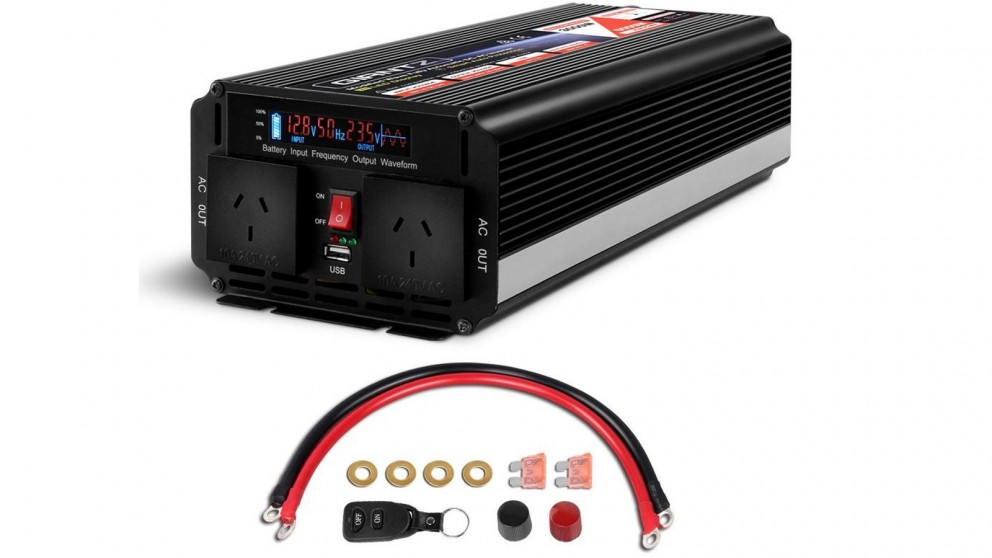 Giantz 3000W 12V - 240V Portable Power Inverter
