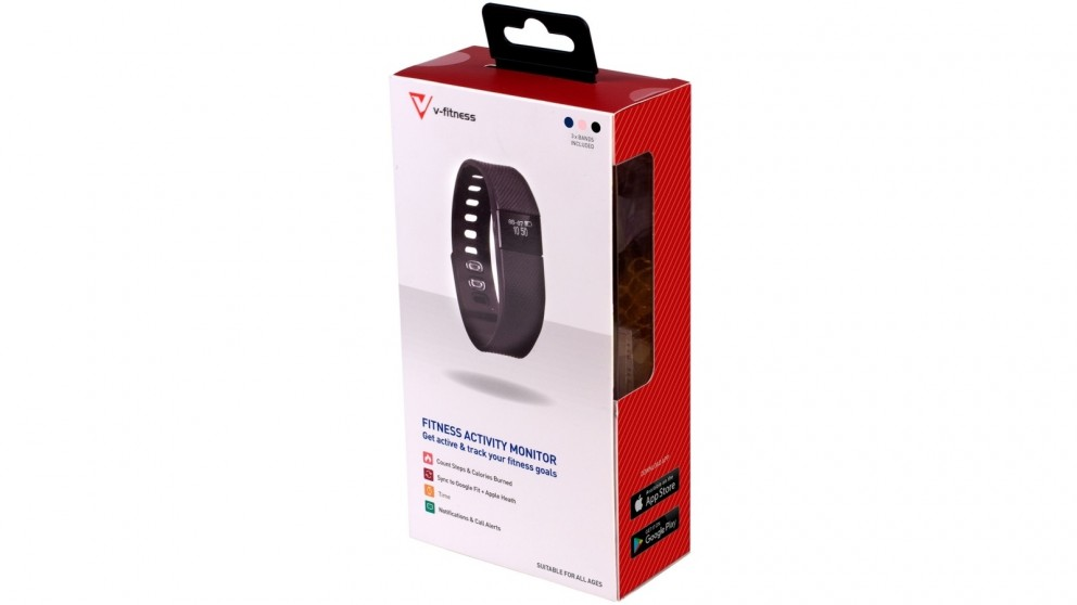 Laser V-Fitness Activity Tracker