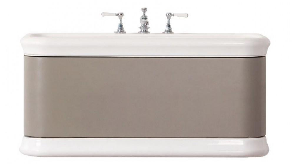 Victoria + Albert Lario Volo 1000mm Vanity - Stone Grey - 0