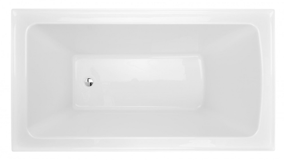 Decina Shenseki 1395mm Inset Bath - White