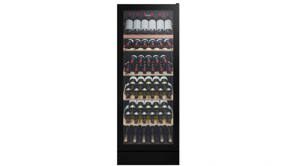 VIntec 148 Bottle Wine Cabinet - Black