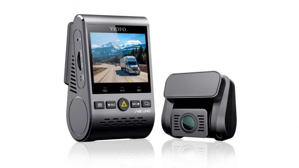 Viofo A129 Pro Duo Ultra 4k Front + Full HD 1080P Rear Dual Channel Wi-Fi Dash Camera