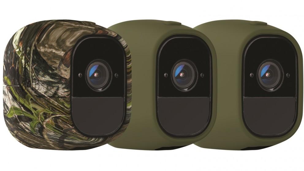 Netgear VMA4200 Set of 3 Arlo Pro Skin - Green & Camouflage