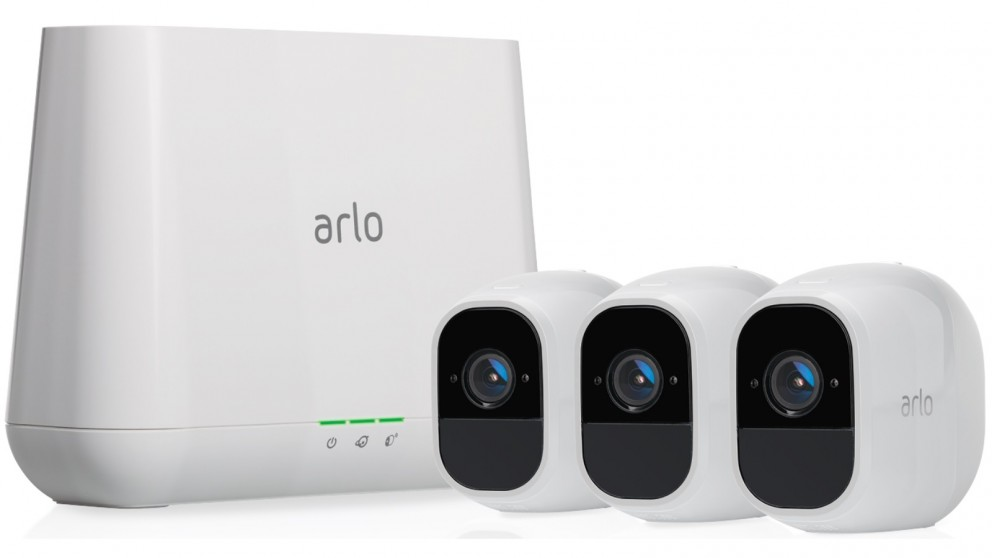 buy netgear vms4330 arlo pro 2 3 camera kit harvey. Black Bedroom Furniture Sets. Home Design Ideas