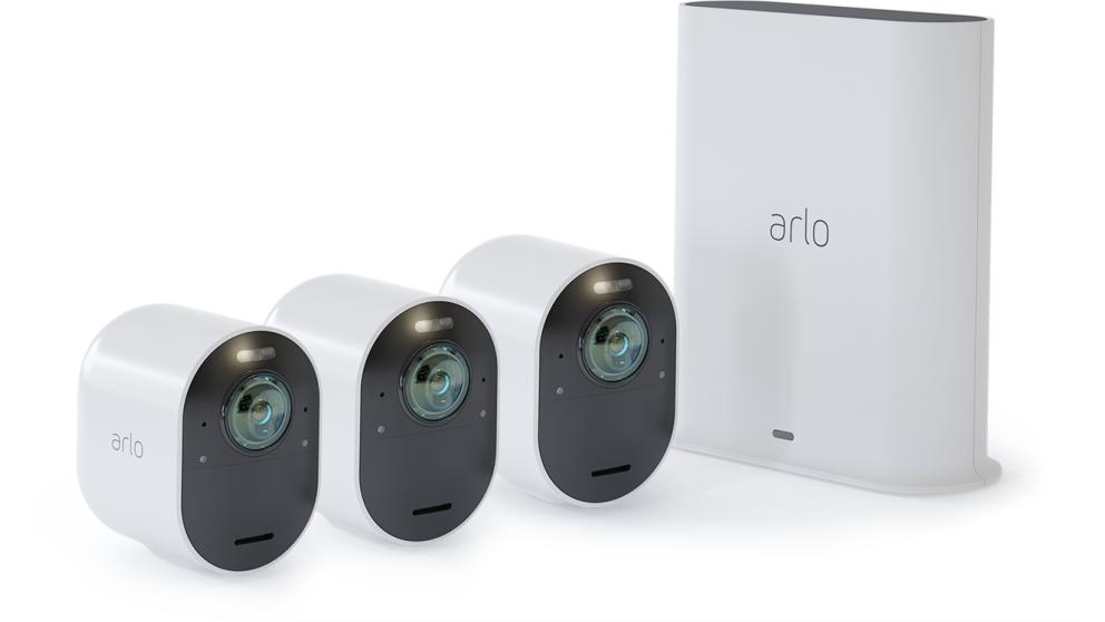 Arlo Ultra 4K UHD Wire-Free 3 Security Camera System