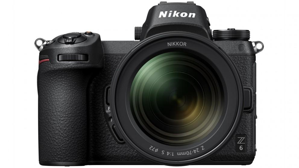 Nikon Z 6 Mirrorless Camera with 24-70mm Lens Kit