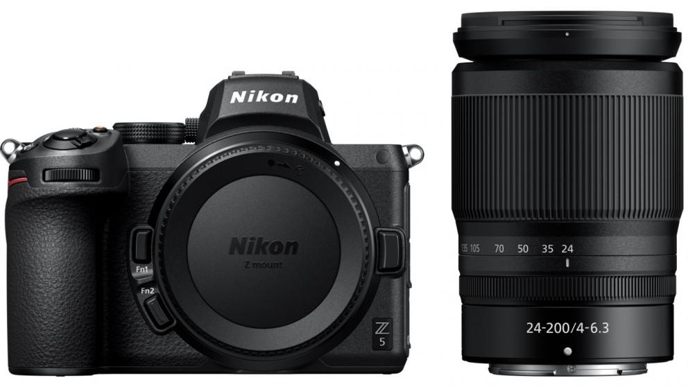 Nikon Z5 Mirrorless Camera with 24-200mm Lens Kit