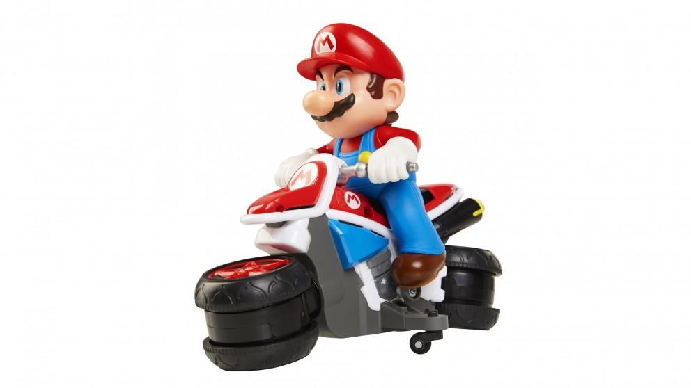 World of Nintendo Mario Kart Mini Motorcycle Remote Control Racer