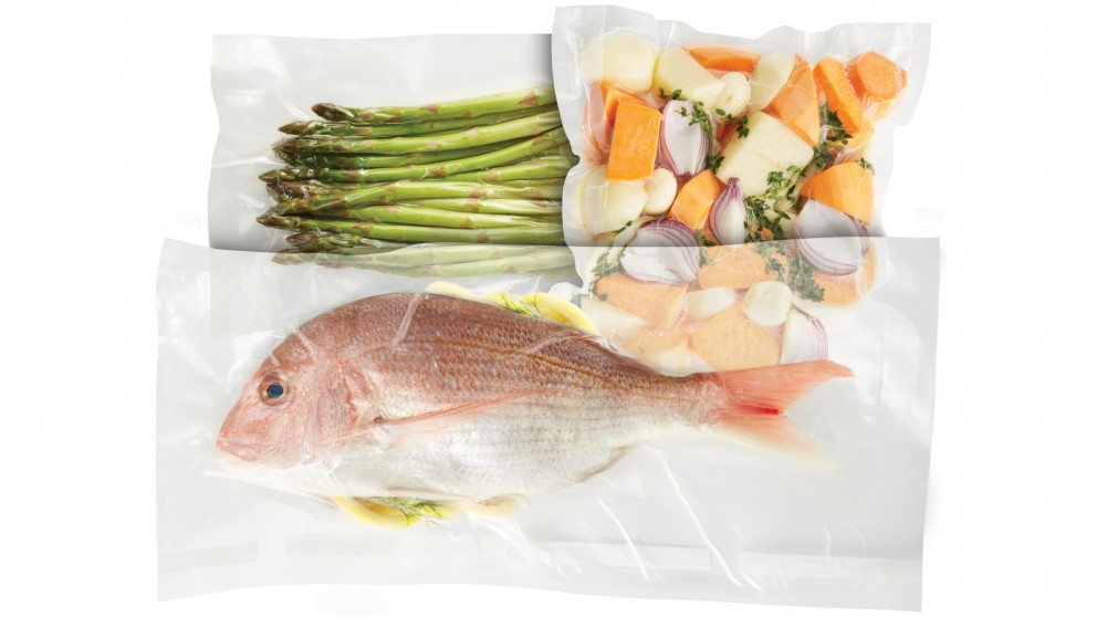 Sunbeam Foodsaver Starter Pack Vacuum Sealers Bags Food Preparation Kitchen Appliances