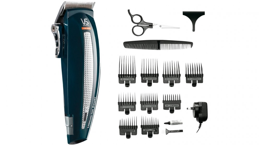 VS For Men Lithium Cut Hair Clipper Kit