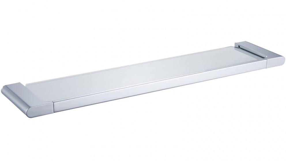 PLD Vantage Glass Shelf - Chrome