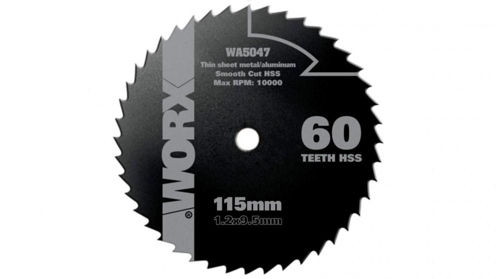 Worx WA5047 115mm, 60 Tooth HSS Blade