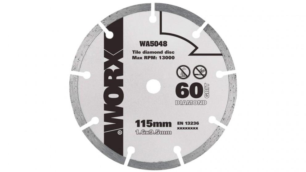 Worx WA5048 115mm, 60 Grit Diamond Blade