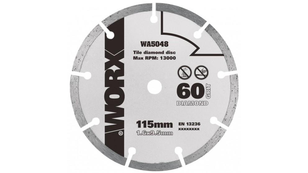 Worx Worxsaw 115mm 60 Grit Diamond Blade