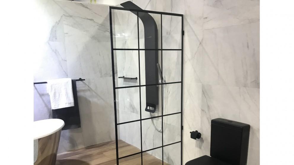 Verotti Custom 1200mm NB.01 Fixed Panel Shower Screen - TruClear
