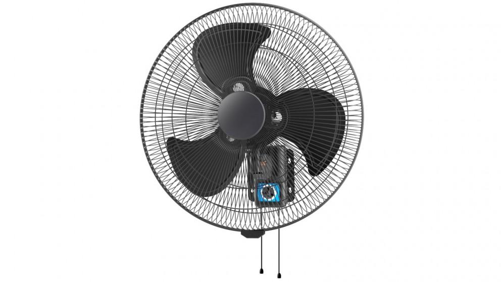 Ventair 45cm Oscillating Wall Fan - Matte Black