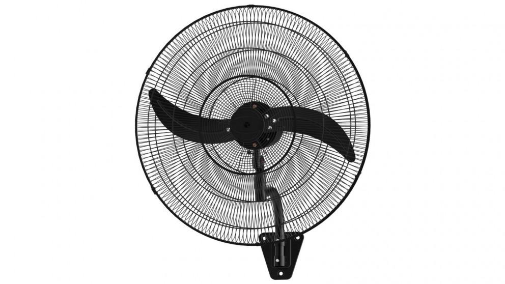 Ventair 75cm Oscillating Wall Fan - Matte Black
