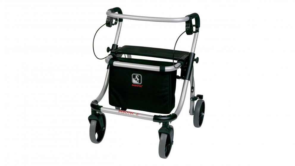Rebotec Polo Plus-T Folding Rollator Wheeled Walker
