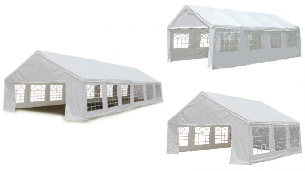 Wallaroo Outdoor Event Marquee Tent - White