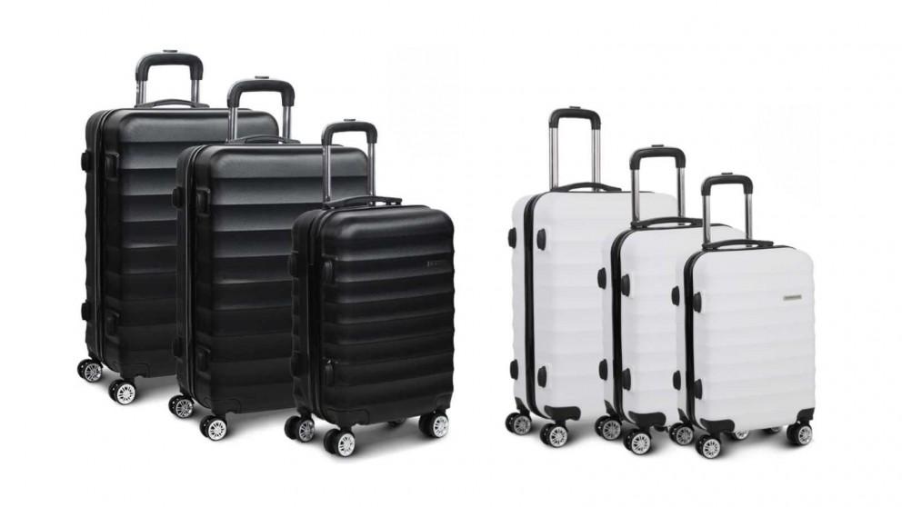 Wanderlite 3 Piece Luggage Trolley Set