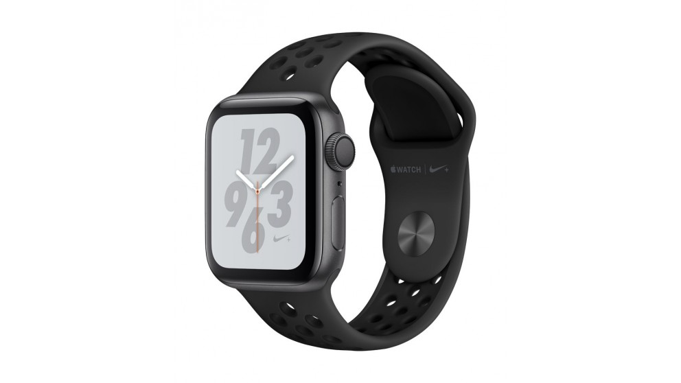 dd571fefd05e85 Apple Watch Nike+ Series 4 - 44mm Space Grey Aluminium Case with Anthracite Black  Nike Sport Band - GPS