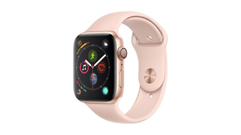 Apple Watch Series 4 - Gold Aluminium Case with Pink Sand Sport Band 40mm GPS