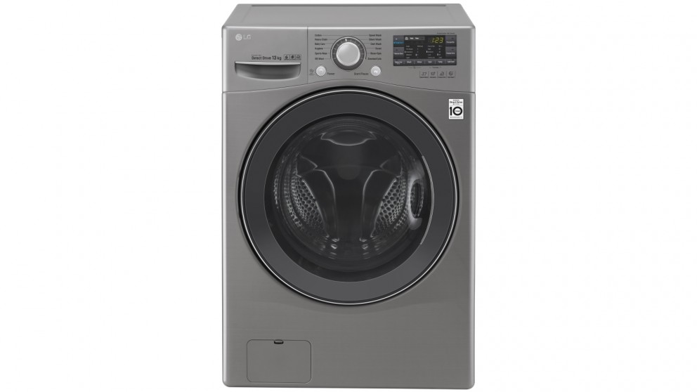LG 13kg Front Load Washing Machine with Turbo Clean & Smart ThinQ