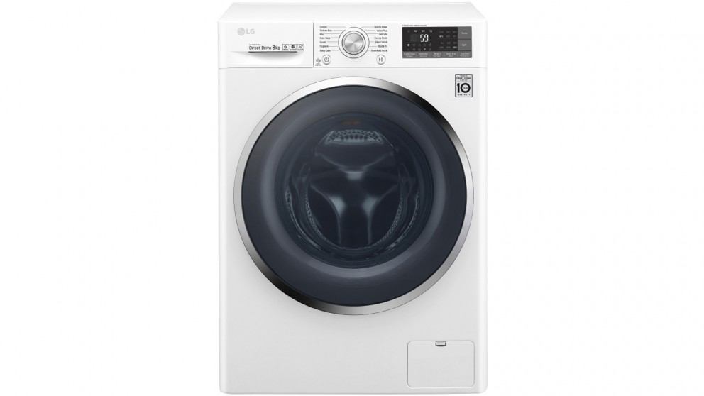 Lg 8kg Front Load Washing Machine by Lg