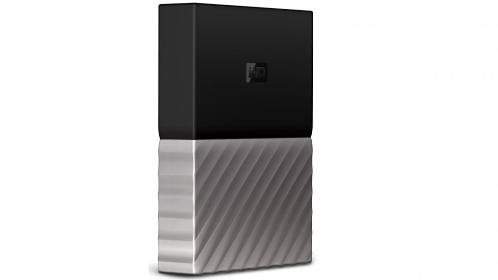 WD My Passport Ultra 4TB Storage Device - Black/Grey