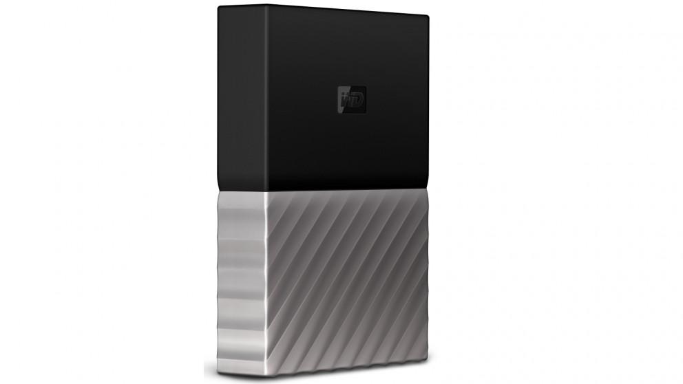 WD My Passport Ultra 4TB Storage Device - Black/Grey