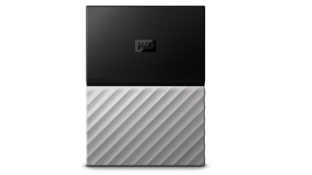 WD My Passport Ultra 1TB Storage Device - Black/Grey