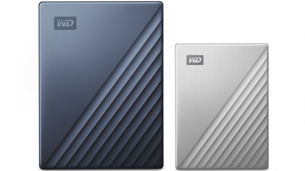 WD My Passport Ultra 2TB USB-C Portable Hard Drive