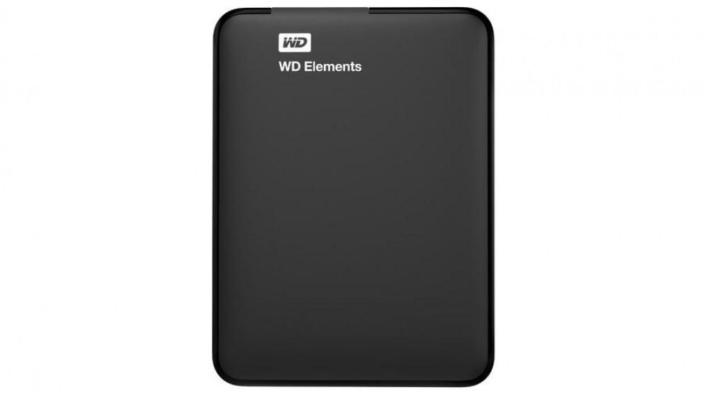 WD Elements 3TB USB 3.0 Portable Hard Drive - Black