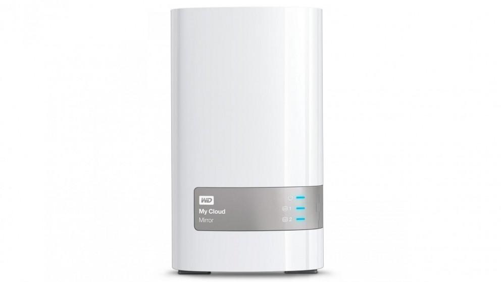 WD My Cloud Mirror Gen2 6TB Network Hard Drive