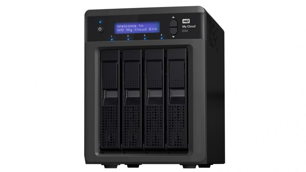 WD My Cloud EX4 8TB Network Hard Drive